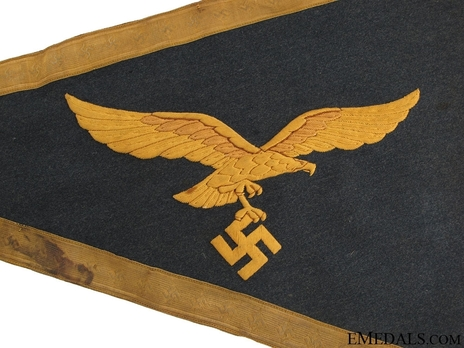 Luftwaffe Vehicle Pennant (General version) Reverse