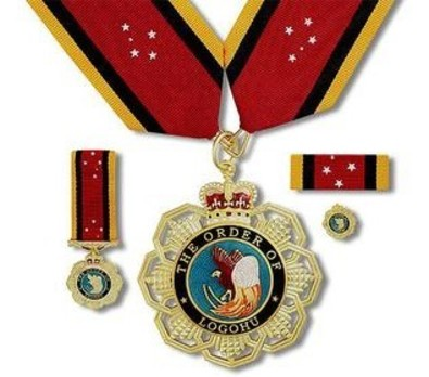 Order of Logohu, Grand Companion Obverse