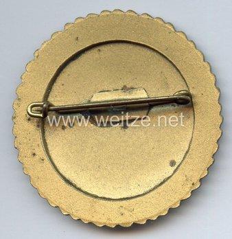 Tyrolean Marksmanship Gau Achievement Badge, Type VI, for Rifle Reverse