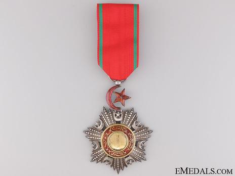 Order of Medjidjie, Civil Division, V Class Obverse