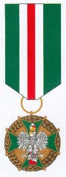 Medal of Merit for Border Guards, I Class Obverse