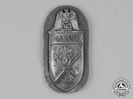 Narvik Shield, Luftwaffe/Air Force Obverse