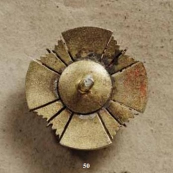 Order of the Star of Brabant, I Class Grand Commander Breast Star Miniature