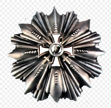 Military Order of the Bear Slayer, I Class Breast Star Obverse