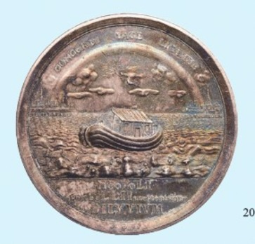 Peace of Nystad, Silver Medal