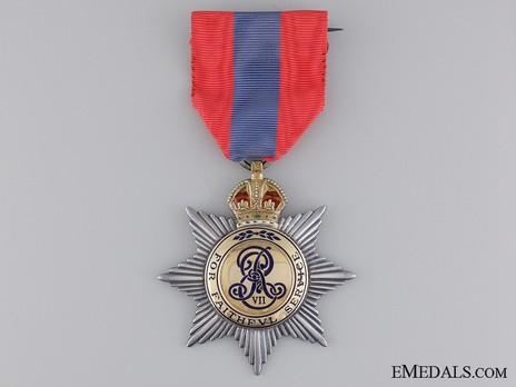 Medal (for Men, 1902-1910) (Silver-gilt by Elkington) Obverse