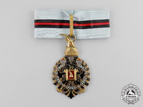 Order of Fidelity, Type II, Grand Officer's Cross Obverse
