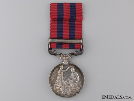 """Silver Medal (with """"JOWAKI 1877-8"""" clasp) Obverse"""