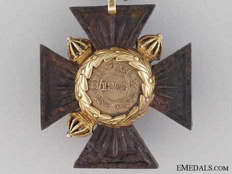 Cross (for British Officers) Reverse