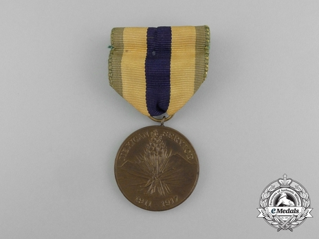 Mexican Service Medal (Army) Obverse