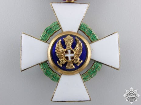 Order of the Roman Eagle, Knight's Cross (with wreath) Obverse
