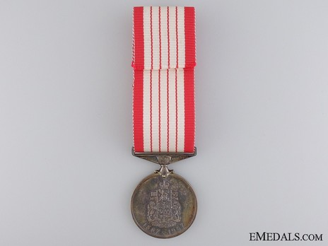 Canadian Centennial Medal Reverse