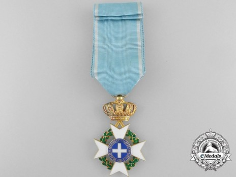 Order of the Redeemer, Type II, Knight's Cross, in Gold Reverse