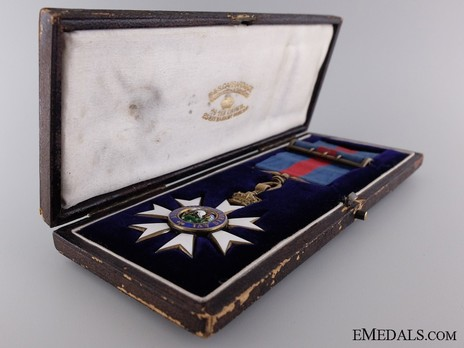 Companion (with silver-gilt by Garrard) in Case of Issue