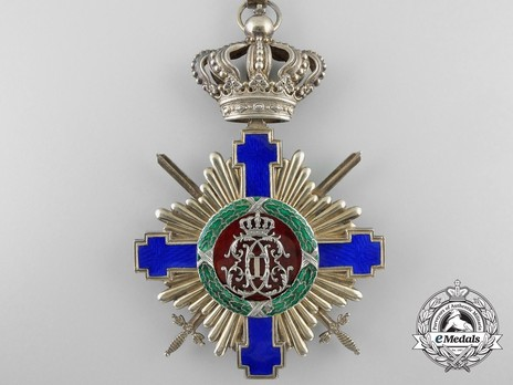 The Order of the Star of Romania, Type I, Military Division, Grand Cross Reverse