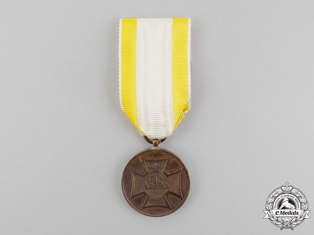 Volunteer+service+medal+1813+1