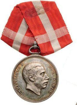 """Silver Medal (stamped """"LINDAHL"""") Obverse"""
