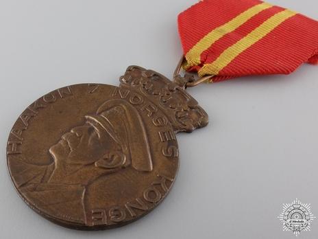 Haakon VII's 70th Anniversary Medal Obverse