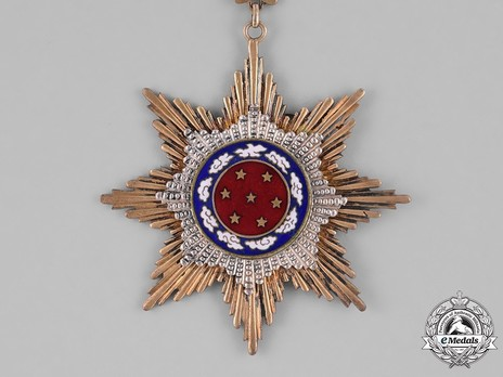 Order of United Glory, III Class Sash Badge Obverse