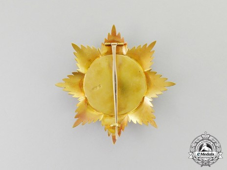 Order of Noble Bukhara, I Class, III Grade (version 1) Reverse
