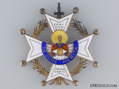 Meritorious Cross Breast Star Obverse
