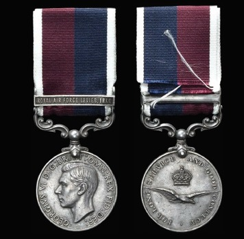 Royal Air Force Levies Long Service and Good Conduct Medal (1949-1952)