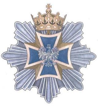 Order of the Military Cross, Grand Cross Breast Star Obverse