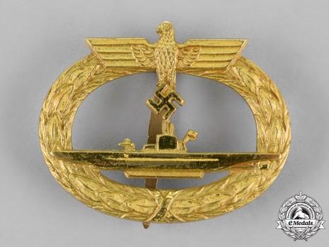 Submarine War Badge, by C. Schwerin Obverse