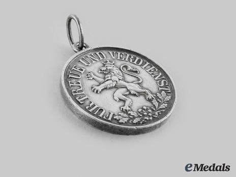 Schwarzburg Duchy Honour Cross, Silver Medal
