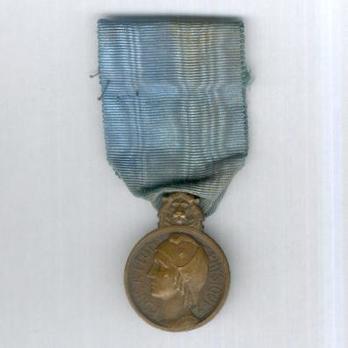 """Bronze Medal (stamped """"FRAISSE,"""" 1929-1939) Obverse"""