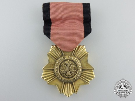 Bronze Medal (for Army) Obverse