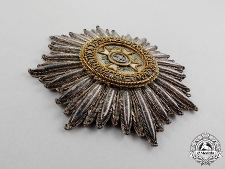 Order of the Redeemer, Type I, Grand Cross Breast Star (in cloth) Obverse