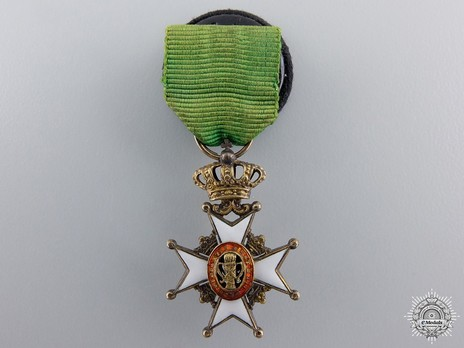 Miniature I Class Knight (with silver gilt, 1860-1975) Obverse