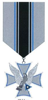 Air Force Merit Cross, III Class (for 2 Years) Obverse