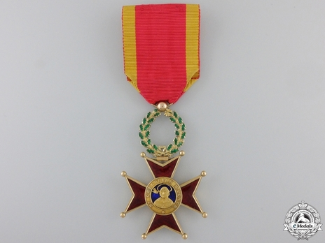Order of St. Gregory the Great Knight (Civil Division) (with gold) Obverse