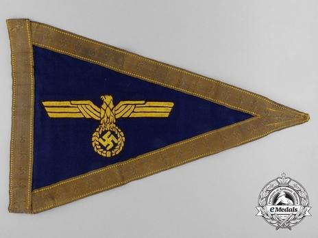 Kriegsmarine Service Pennant (Admiral version) Obverse