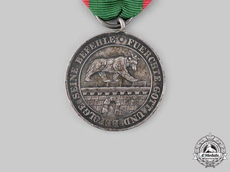 Silver Medal of Merit Reverse