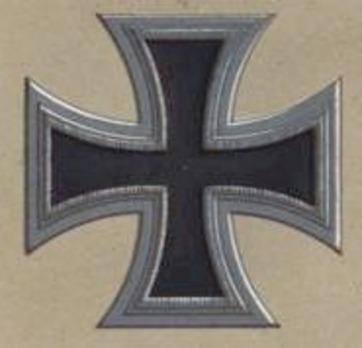 I Class Iron Cross (II Form 1813) Obverse