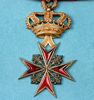 Military Order of Saint Stephen, Type II, Grand Cross (with crown) Illustration