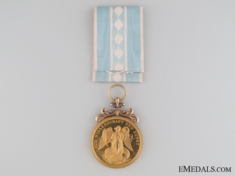 """Ludwig Medal for Arts and Sciences, Gold Medal for Arts and Sciences (stamped """"J.RIES"""" """"VOIGT"""") Reverse"""