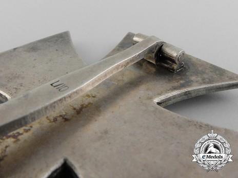 Iron Cross I Class, by Deschler (L/10) Reverse Detail
