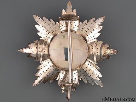 Order of the Redeemer, Type II, Grand Cross Breast Star Reverse