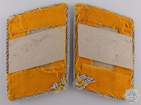 Luftwaffe Flying Troops Oberleutnant Collar Tabs Reverse