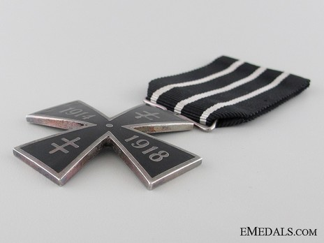 WWI Cross (1914-1918), IV Class Obverse