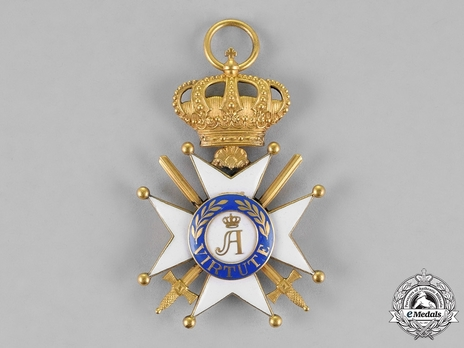 Order of Civil and Military Merit of Adolph of Nassau, Officer with Crown (Military Division)
