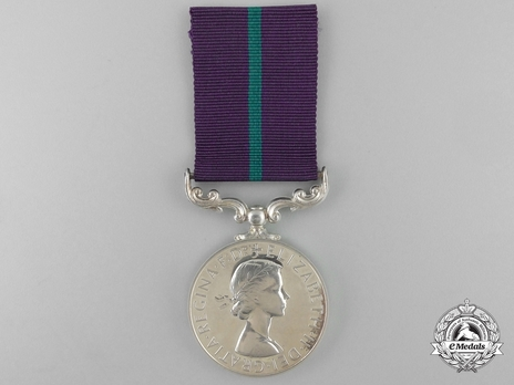 Silver Medal (for New Zealand, with Queen Elizabeth II effigy) Obverse