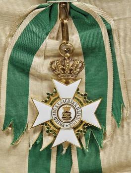 Order of Merit, Type II, Civil Division, Grand Cross (1891-1910, in gold)