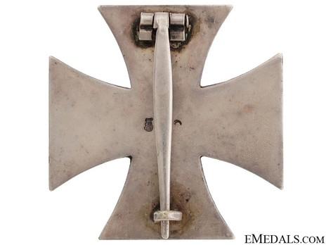 Iron Cross I Class, by A. Rettenmaier (L 59) Reverse