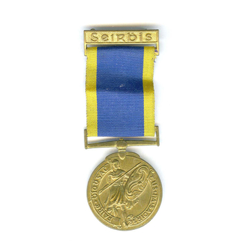 Service Medal for Local Defence Forces and Naval Reserve, Bronze (7 Years)
