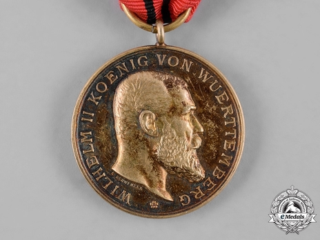 "Civil Merit Medal, Type V, in Gold (stamped ""K.SCHWENZER"")"